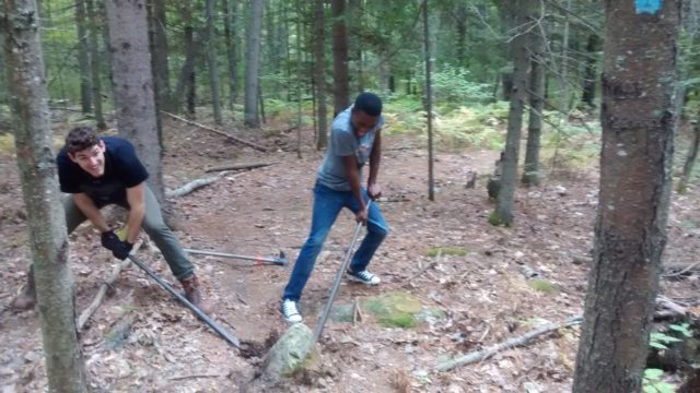 Trail Work on Piney Knoll Conservation Area